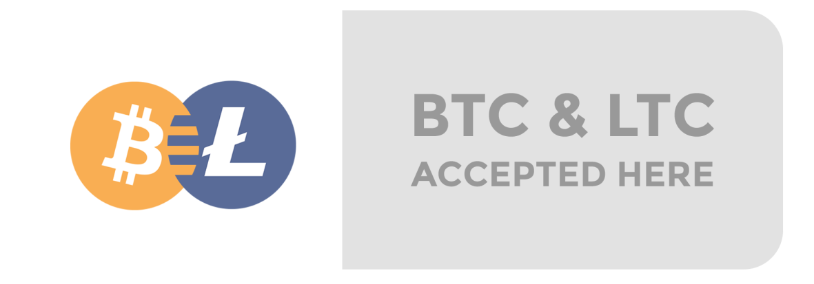 Bitcoin accepted!
